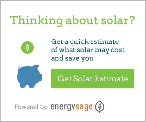 EnergySage Solar Estimate button